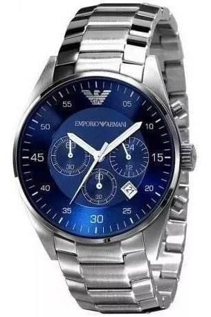 Relógio Masculino Emporio Armani Ar5860/5858 Original