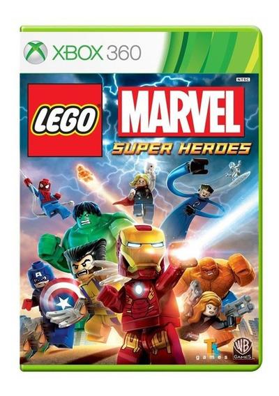 Lego Marvel Super Heroes - Xbox 360 - Usado - Original