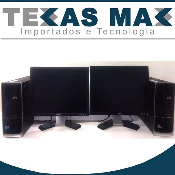 Computador Hp Core 2 Duo + Mouse + Teclado + Monitor (unit)