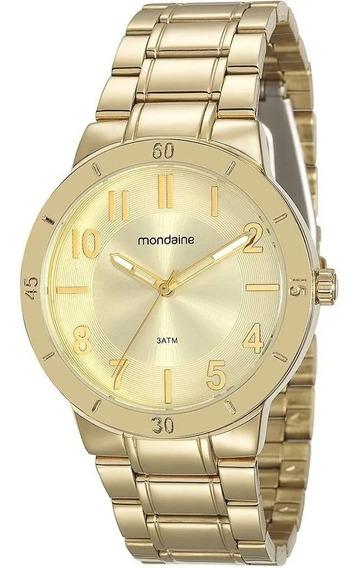 Relógio Feminino Mondaine 94803lpmvde1 Novo De Vltrine Fotos