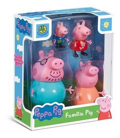Peppa Pig - Bonecos Da Familia Pig 4856 Dtc
