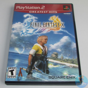 Ps2 Final Fantasy X Original Americano Completo Confira !