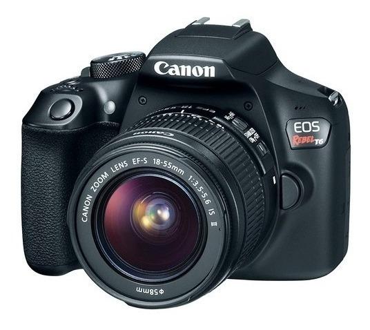 Câmera Canon Digital Profissional Rebel T6 18-55