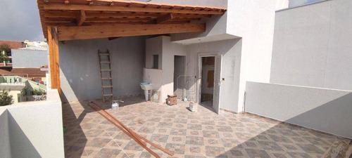 Imagem 1 de 20 de Cobertura À Venda, 100 M² Por R$ 360.000,00 - Parque Das Nações - Santo André/sp - Co5579
