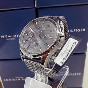 Relógio Tommy Hilfiger 1791613 Aço Inox Cinza