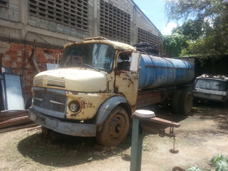 Camion Tanque Cisterna De Agua