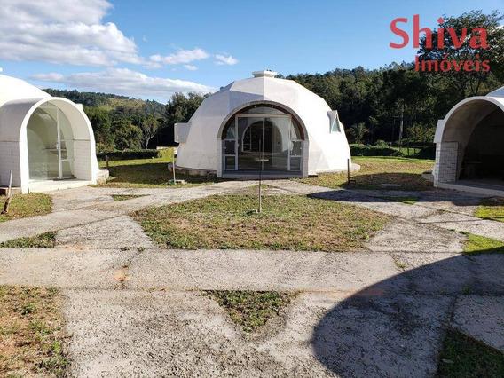 Sítio Com Casas Esféricas Geodésicas À Venda Em Amparo, Sp - Si0001