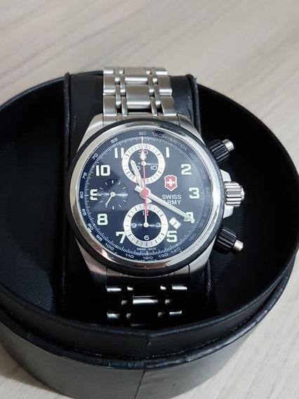 Relógio Victorinox Chronopro Valjoux 7750 Automático