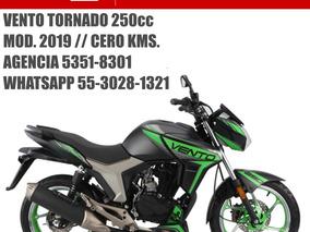Vento Tornado 2019 Nueva Con Casco Y Emplacado Gratis Meses