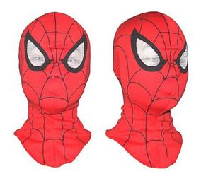 Máscara Homem Aranha Fantasia Super Heróis Marvel Brinquedo