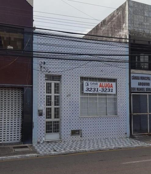 Casa Comercial Na Rua Itabaiana, Centro, Com 364m² - Ca502