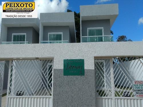 Imagem 1 de 30 de Casa 02 Quartos A Venda Em Guarapari - Ca00093 - 4866562