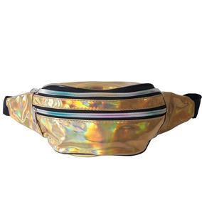 3 Pochete Metalizada Holografica Promoção Fete Grátis