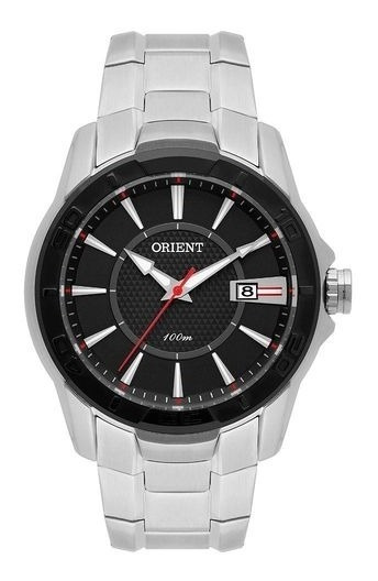 Relógio Masculino Orient Mbss1325-p1sx Prata