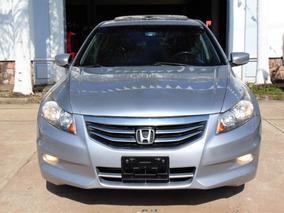 Honda Accord 3.5 Exl Sedan V6 Piel Abs Qc Cd At 2012