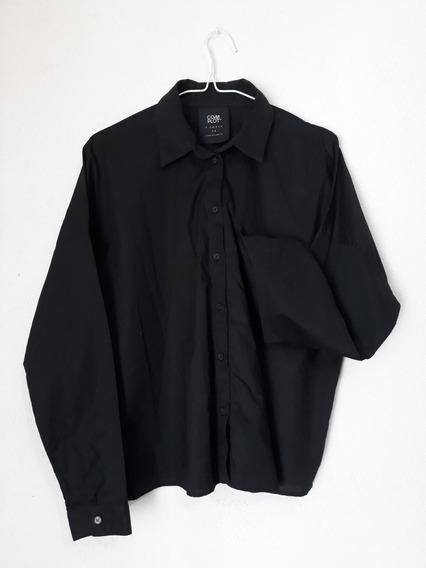 Camisa De Poplin Complot