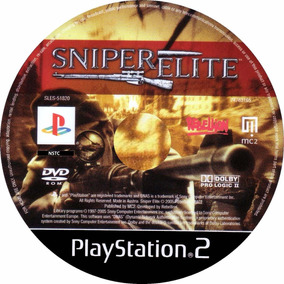 Sniper Elite-ps2 - Patch Impressos