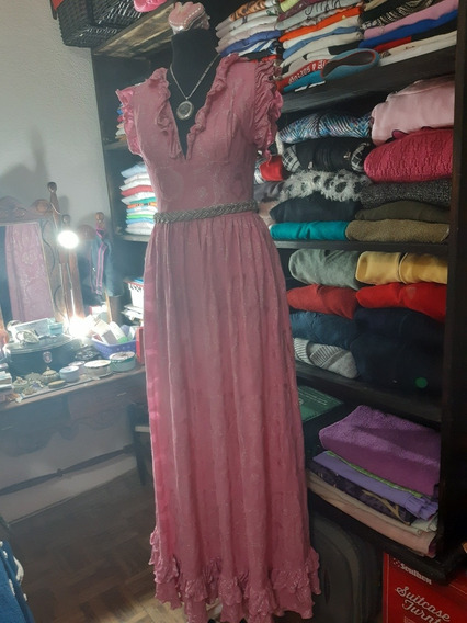 Vestido De 15 De Seda.
