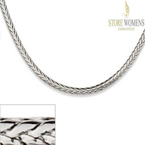 Cordão Rommanel Masculino Aço Med 60cm 230131