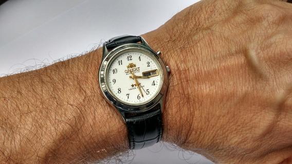 Relógio Orient Automático Antigo Masculino Perfeito Raro