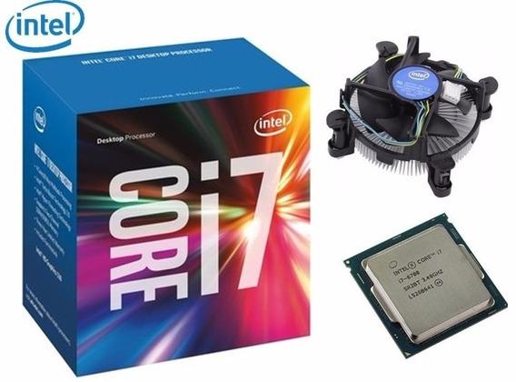 Kit Intel 7ª Geração I7 7700, 8gb Ddr4 Hyperx Fury, H110m