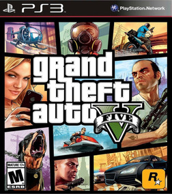 Gta V Ps3 Midia Digital Psn Grand Theft Auto 5 Envio Ja!!