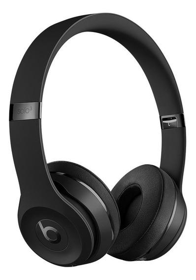 Fone de ouvido sem fio Beats Solo³ Wireless matte black