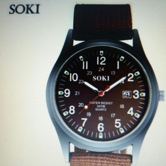 Relógio Soki , Resistênte À Água