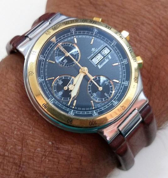 Baume & Mercier Formula S - Automatic Chronograph - Aço E Ouro -12x Sem Juros !!!
