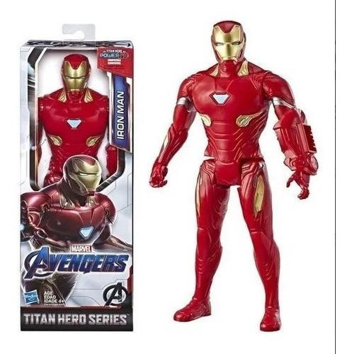 Imagem 1 de 3 de Boneco Homem De Ferro Titan Hero Power Fx Iron Man - Hasbro