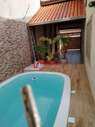 Casa Térrea Com Piscina Na Praia Do Sonho - 80m Da Praia - 940