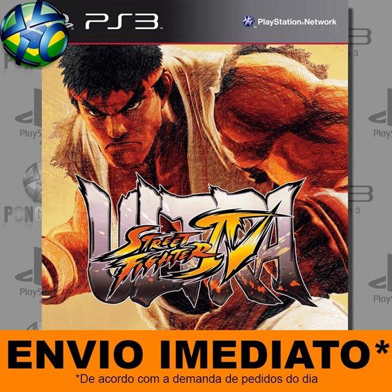 Ultra Street Fighter 4 Iv Ps3 Digital Psn Envio Agora