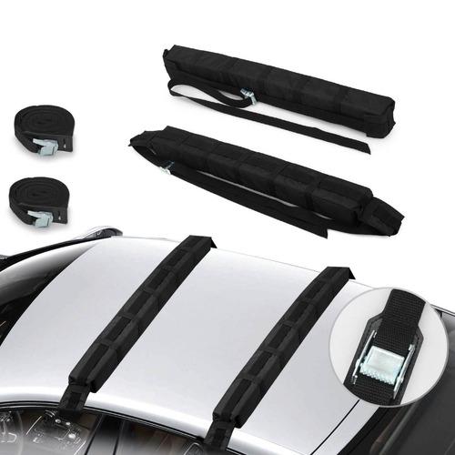 Portaequipaje Tela Soft Universal Auto 4x4 Cintas Amarre