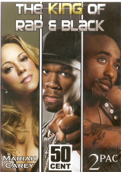 Dvd Mariah Carey, 50cent, 2pac - The King Of Rap & Black***