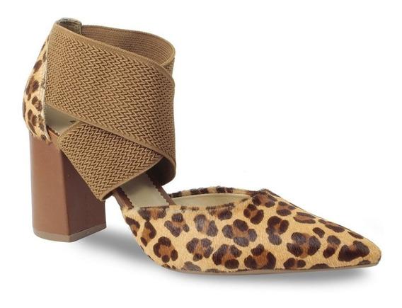 Sapato Scarpin Bottero Feminino Onça 303804