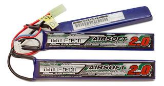 Batería Lipo Airosft Turnigy Nanotech 11,1 2000 15~25c Split
