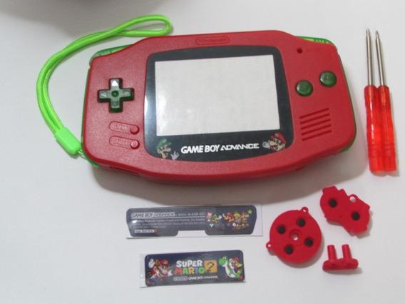 Carcaça Game Boy Advance Mario Zelda Castlevania Pokemon