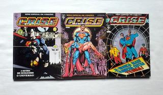 Hq Crise Nas Infinitas Terras - 1989 - 3 Vol. - Abril Dc
