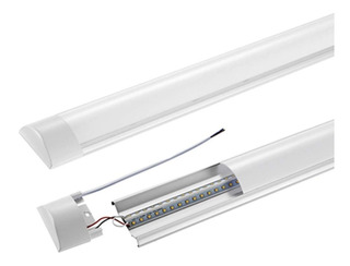 Lampara Led Plana 36w Sobreponer Antipolvo Luminaria Techo