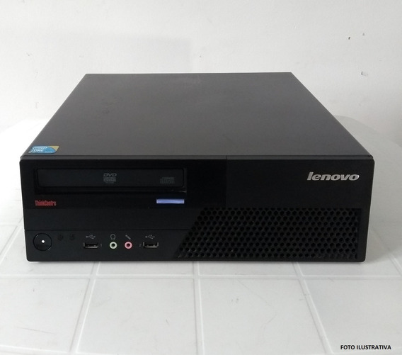 Cpu Lenovo M58 Core 2 Duo Sem Hd 4 Gb Ram Ddr3