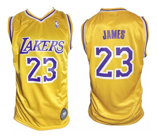 Camiseta Basquet Nba Los Angeles Lakers Lebron James Basket