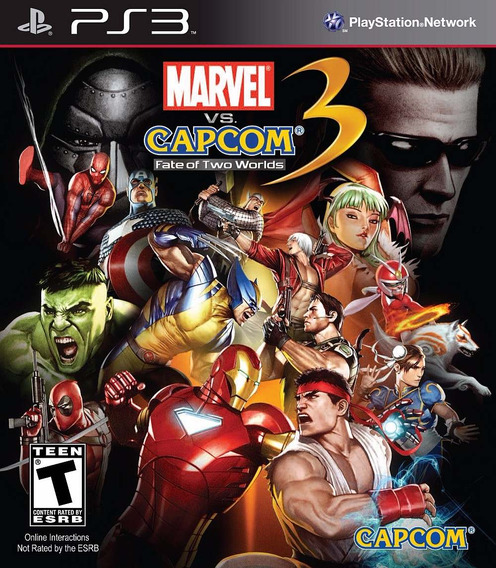 Marvel Vs Capcom 3 Fate Of Two Worlds Ps3 Físico Playgorila