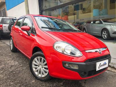 Fiat Punto Attractive 1.4 Manual Vermelho - 2016