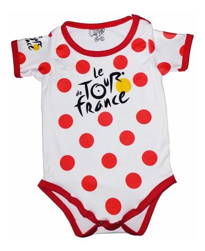 Mameluco Body Bebé Tour De Francia Blanco