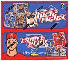 5 Cajas De Panini Triple Play Baseball 2013