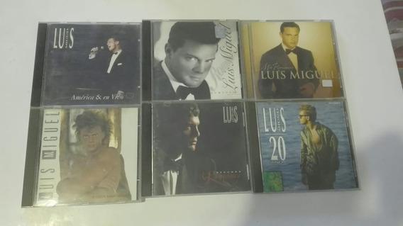 Lote De 6 Cds De Luis Miguel