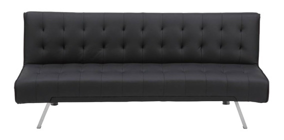 Sofa Cama Sillon Reclinable 2 Posiciones Tipo Piel 180 Cm