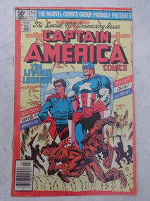 Captain America Nº 255 Special 40th Anniversary Issue Byrne