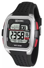 Relógio Masculino Digital X - Games Xgppd104 Bxpx Quadrado
