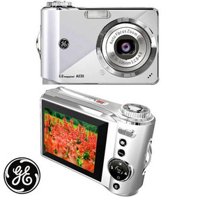 Camera Digital Ge A830 Prata Ge